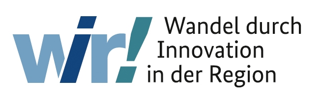 Logo des Programms Wir! Wandel durch Innovation in der Region